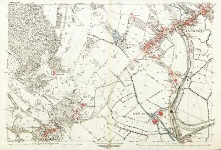 Gloucestershire XLVII.6 (includes: Aylburton; Lydney) - 25 Inch Map