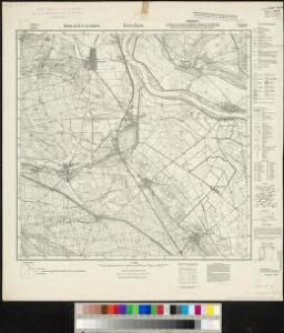 Meßtischblatt 2050 : Brieskow, 1923