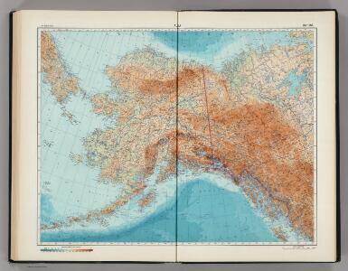 182-183.  Alaska.   The World Atlas.