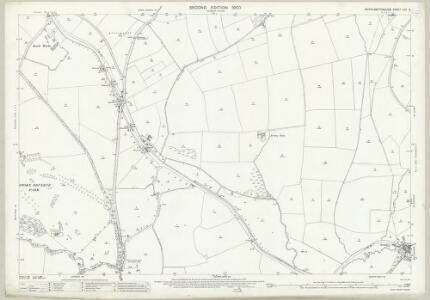 Northamptonshire LVII.5 (includes: Ashton; Grafton Regis; Shutlanger; Stoke Bruerne) - 25 Inch Map