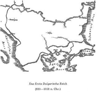 Das Erste Bulgarische Reich (680-1018 n. Chr.)