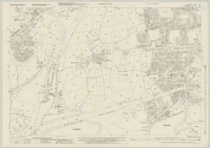 Lancashire CX.2 (includes: Carrington; Flixton; Irlam) - 25 Inch Map