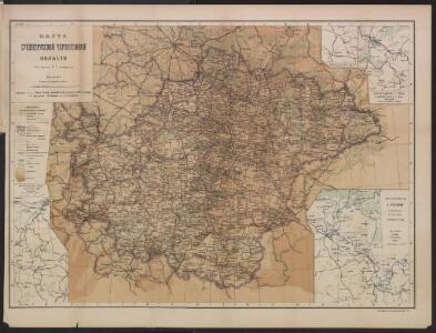 Karta srednerusskoj černozemnoj oblasti