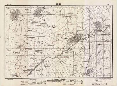 Lambert-Cholesky sheet 1558 (Cenei)