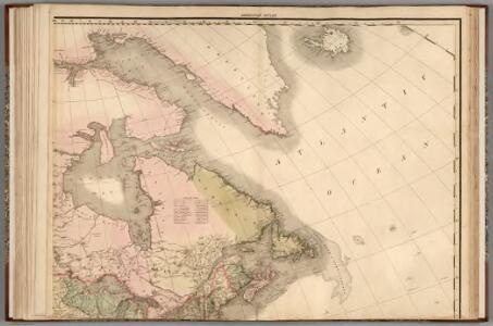 North America...N.E. Sheet.