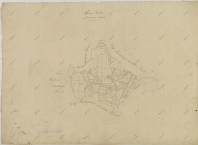 Záměrná mapa dvora Korákov 1