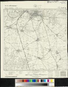 Meßtischblatt 4044 : Jüterbog, 1940