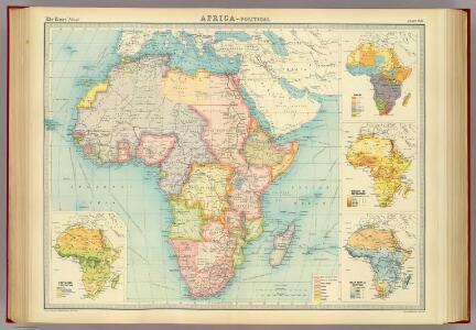 Africa - political.