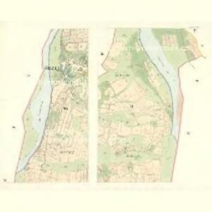 Przno - m2441-1-004 - Kaiserpflichtexemplar der Landkarten des stabilen Katasters