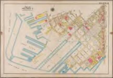 Plate 31: [Bounded by Richards Street, (Erie Basin Dry Docks) Beard Street, Dwight Street, Bush Street, Columbia Street, Center Street, Hicks Street, Hamilton Avenue, (Gowanus Canal) Smith Street, Percival Street, Court Street, Bryant Street, Clinton Street, (Henry Street Skip, Hicks Street Slip) Bay Street, Hicks Street, (Erie Basin) Halleck Street and Beard Street.]; Atlas of the borough of Brooklyn, city of New York: from actual surveys and official plans by George W. and Walter S. Bromley.