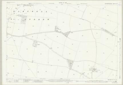 Northamptonshire XIX.14 (includes: Barnwell; Polebrook) - 25 Inch Map