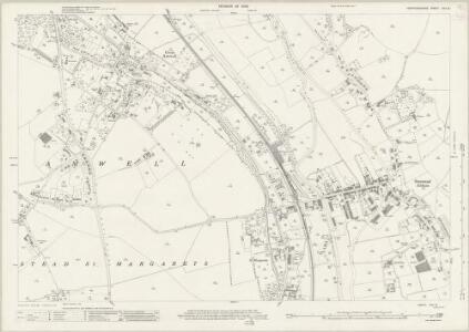Hertfordshire XXX.13 (includes: Great Amwell; Stanstead Abbots; Stanstead St Margaret) - 25 Inch Map