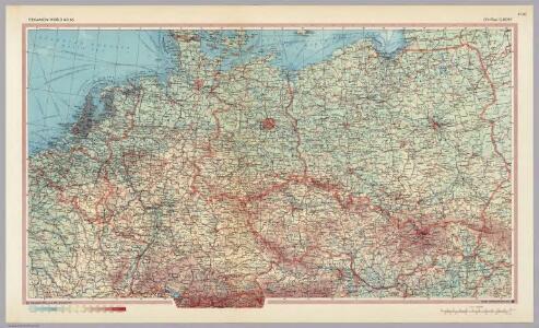 Central Europe.  Pergamon World Atlas.