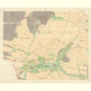 Chirles (Krchlowy) - m1362-1-005 - Kaiserpflichtexemplar der Landkarten des stabilen Katasters