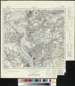Messtischblatt 2574, neue Nr. 4506 : Duisburg, 1937 Duisburg
