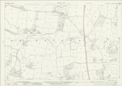 Sussex XXXVII.4 (includes: West Grinstead) - 25 Inch Map