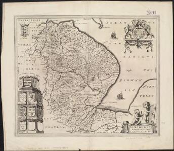 Lincolnia comitatus : Anglis Lincoln-Shire
