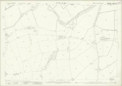 Berkshire VIII.1 (includes: Eaton Hastings; Grafton and Radcot; Great Faringdon; Kelmscot) - 25 Inch Map