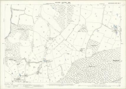 Hertfordshire XXXVI.7 (includes: Bayford; Brickendon Liberty) - 25 Inch Map