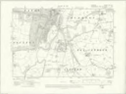 Cheshire XLVI.SE - OS Six-Inch Map
