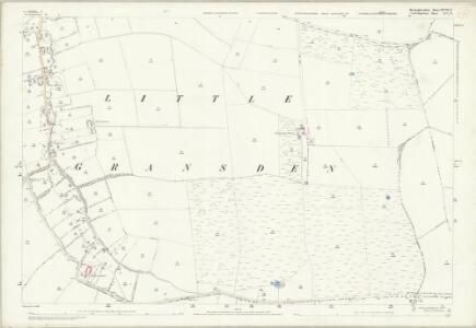 Huntingdonshire XXVIII.11 (includes: Great Gaddensden; Little Gransden; Longstowe) - 25 Inch Map