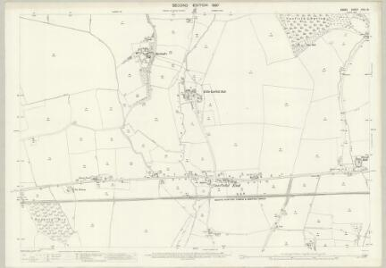 Essex (1st Ed/Rev 1862-96) XXIII.15 (includes: Little Canfield; Takeley) - 25 Inch Map