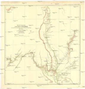 Die Wüstenregion zwischen Nil und Uadi Kenet
