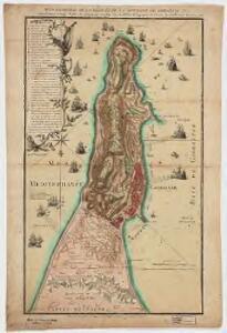 Plan géometral de la ville et de la montagne de Gibraltar : nouvellement corrigé d'après les originaux anglais