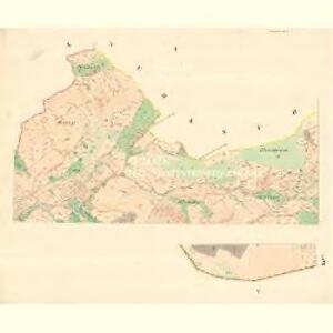 Nedaschow - m1940-1-001 - Kaiserpflichtexemplar der Landkarten des stabilen Katasters