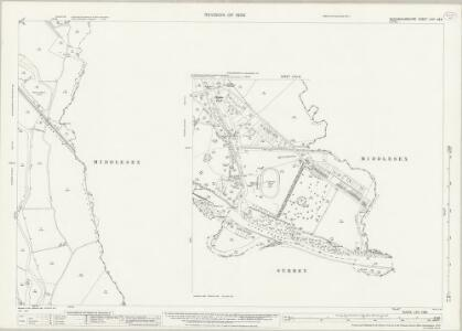 Buckinghamshire LVIII.4 & 8 (includes: Egham; Staines; Stanwell; Wyrardisbury) - 25 Inch Map