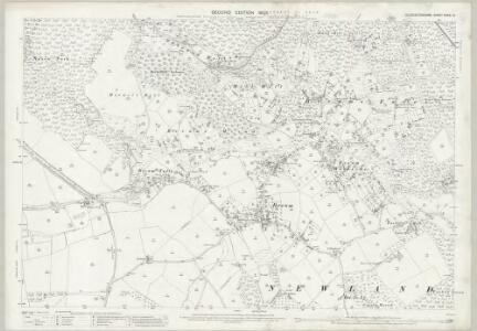 Gloucestershire XXXIX.13 (includes: Newland; St Briavels; West Dean) - 25 Inch Map