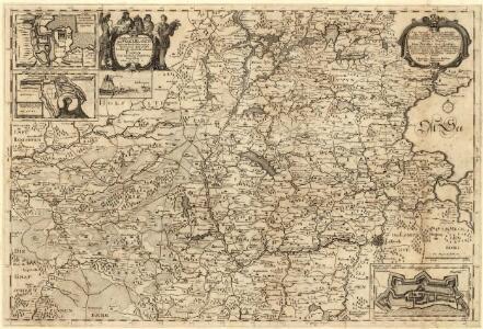 Landtcarte Uom Süderntheil des Wagerland's