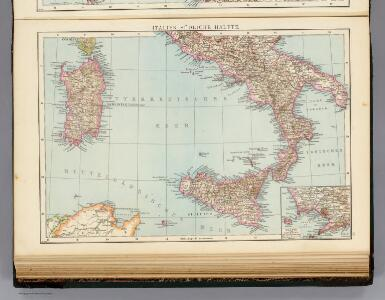 Italien sudliche Halfte.