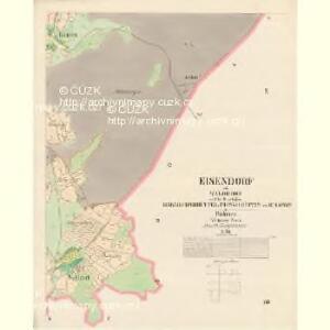 Eisendorf - c9392-2-008 - Kaiserpflichtexemplar der Landkarten des stabilen Katasters