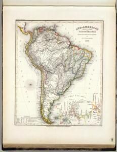Sud-America's Bergsysteme, Stromgebiete.