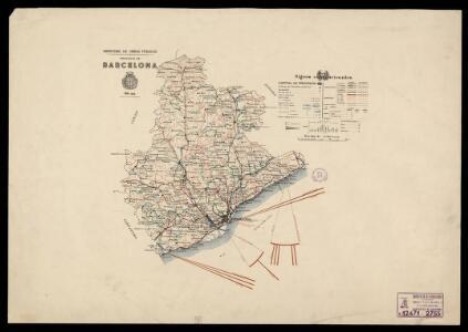 Provincia de Barcelona / Ministerio de Obras Públicas
