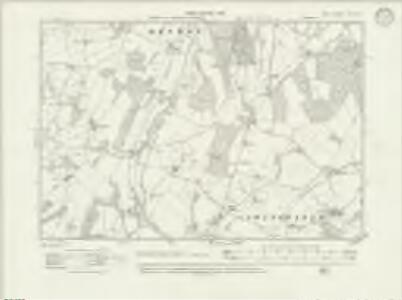 Kent LXVII.NW - OS Six-Inch Map