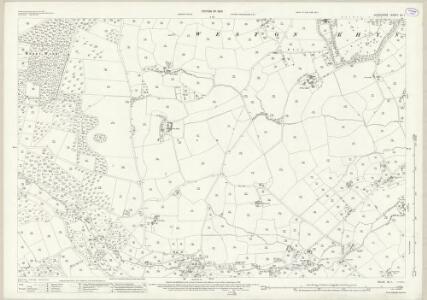 Shropshire XII.1 (includes: Selattyn; Weston Rhyn; Whittington) - 25 Inch Map