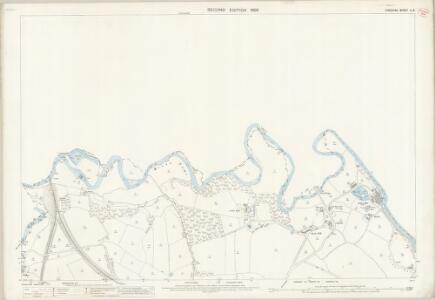 Cheshire X.8 (includes: Bredbury and Romiley; Denton; Stockport) - 25 Inch Map