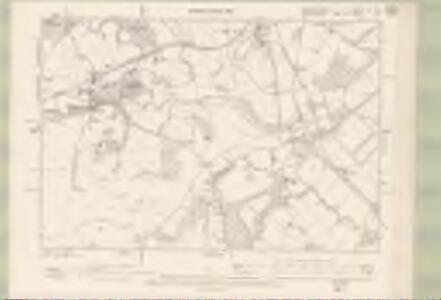 Dumbartonshire Sheet XV.SW - OS 6 Inch map