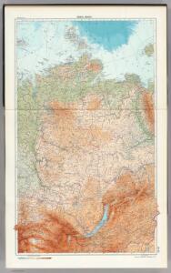 34-35.  Siberia, Middle.  The World Atlas.