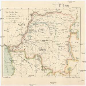Der Congo-Staat nach seiner Districts-Eintheilung