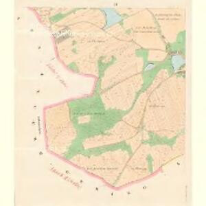 Gross Temelin (Welky Temelin) - c7855-1-003 - Kaiserpflichtexemplar der Landkarten des stabilen Katasters