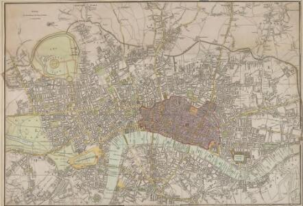 A New plan of LONDON and WESTMINSTER