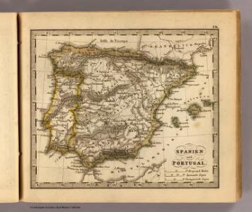 Spanien, Portugal.