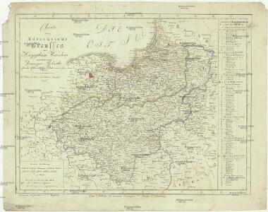 Charte vom Königreiche Preussen, dem Herzogthum Warschau und dem neuen Danziger Gebiethe
