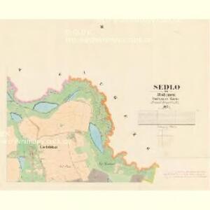 Sedlo - c6809-1-002 - Kaiserpflichtexemplar der Landkarten des stabilen Katasters