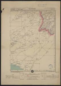 Carte des colonies de l'A.O.F. Tinsou