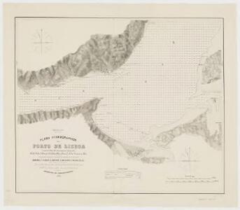 Plano hydrographico do porto de Lisboa : leveantado de 1845 a 1847 pelos egenheiros hydrographos F.M.P. da Silva, C.M. Batalba, dom C.B. de Vasconcellos