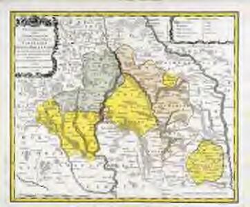 Tabula geographica sistens territorivm liberæ sacri romani imperii civitatis Svevo=Hallensis